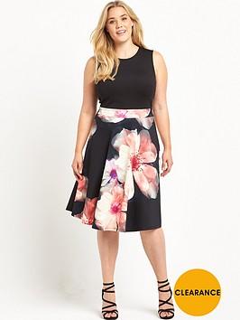 v-by-very-curve-floral-print-skirt-scuba-prom-dress