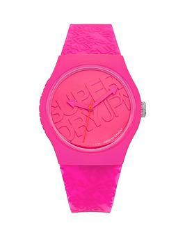 superdry-superdry-urban-white-dial-white-logo-printed-silicone-strap-ladies-watch