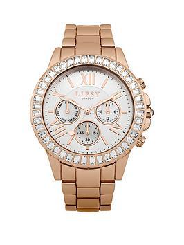 lipsy-lipsy-silver-multi-look-dial-crystal-set-bezel-rose-gold-metal-bracelet-watch