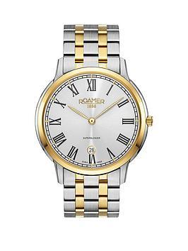 roamer-roamer-superslender-silver-dial-gold-silver-stainless-steel-bracelet-mens-watch
