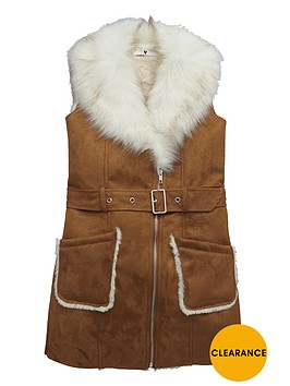 v-by-very-girls-fauxnbspshearling-gilet