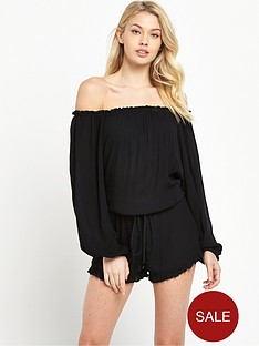 denim-supply-ralph-lauren-off-the-shoulder-romper-polo-black