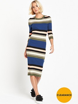 lost-ink-striped-knit-dress-in-rib