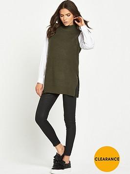 lost-ink-shirt-sleeves-high-neck-jumper