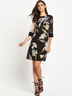 little-mistress-ls-printed-shift