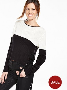 v-by-very-colour-blockstriped-jumper