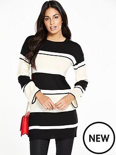 v-by-very-stripe-tunic