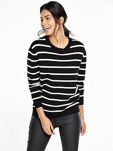 v-by-very-stripe-zip-jumper