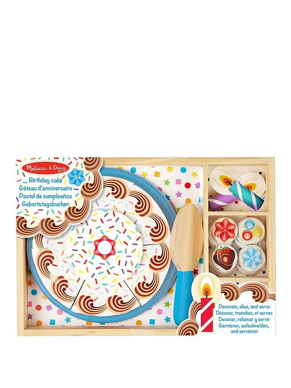 Enjoyable Melissa Doug Wooden Birthday Cake Littlewoodsireland Ie Personalised Birthday Cards Beptaeletsinfo