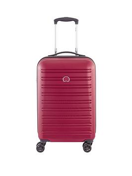 delsey-segur-55cm-4-double-wheel-cabin-trolley-case