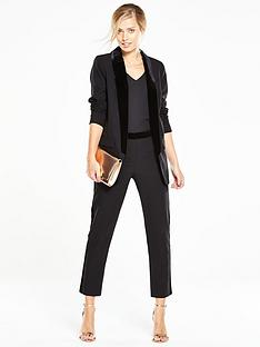 v-by-very-velvet-longline-blazer