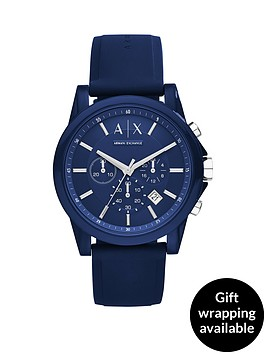 armani-exchange-blue-dial-blue-silicone-strap-mens-watch