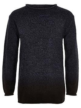river-island-boys-dip-dye-knit-jumper