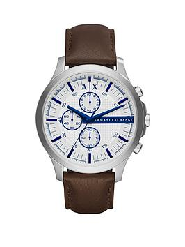 armani-exchange-hampton-white-dial-blue-accent-chronograph-brown-leather-strap-mens-watch
