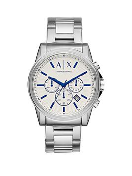 armani-exchange-outerbank-white-dial-blue-accent-chronograph-stainelss-steel-bracelet-mens-watch