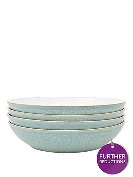 denby-elements-4-piece-pasta-bowl-set-green