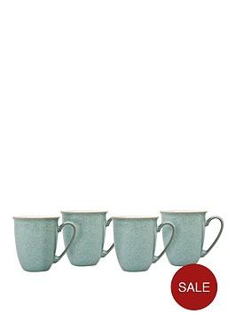 denby-elements-set-of-4-coffee-mugs-ndash-green