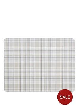 denby-denby-elements-checks-natural-6-piece-placemats