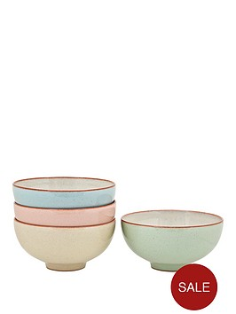 denby-always-entertaining-lsquodelirsquo-4-piece-rice-bowl-set