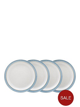 denby-elements-4-piece-dinner-plate-set-ndash-blue