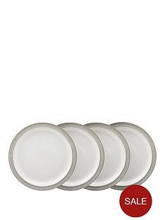denby-elements-4-piece-medium-plate-set-ndash-light-grey