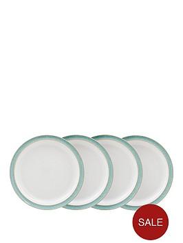 denby-elements-4-piece-dinner-plate-set-ndash-green