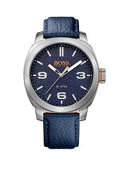 hugo-boss-cape-town-casual-blue-dial-blue-strap-mens-watch
