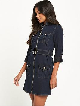 river-island-military-denim-shirt-dress