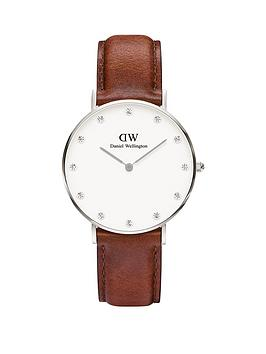 daniel-wellington-daniel-wellington-classy-st-mawes-34mm-white-dial-tan-leather-strap-watch