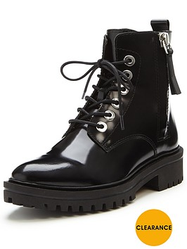 kendall-kylie-kendall-kylie-jolanda-polished-lace-up-ankle-boot