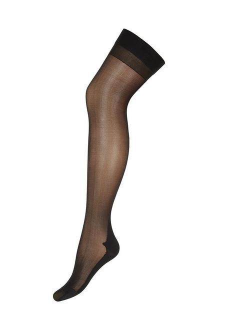 ann-summers-plain-top-seamed-stockings-black