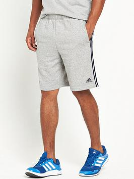 adidas-essential-3-stripe-shorts