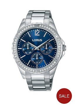 lorus-sunray-blue-multinbspdial-bracelet-ladies-watch