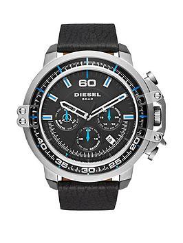 diesel-disel-deadeye-black-dial-blue-accents-chronograph-black-leather-strap-mens-watch