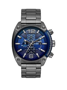 diesel-diesel-overflow-advanced-blue-dial-chronograph-gum-metal-stainless-steel-bracelet-mens-watch