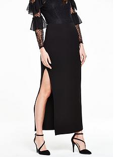 v-by-very-side-split-pencil-skirt