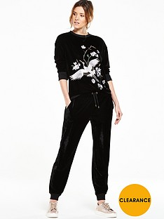 v-by-very-embroidered-velour-sweater