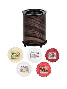 yankee-candle-lsquogold-glitter-swirlrsquo-wax-melt-collection