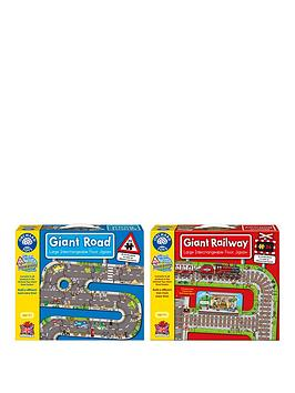 orchard-twin-pack-giant-puzzle-road-amp-railway