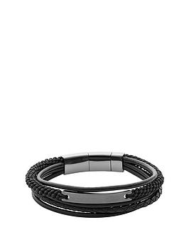 fossil-fossil-black-steel-leather-multiwrap-cuff