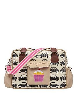 pink-lining-yummy-mummy-black-cabs-changing-bag