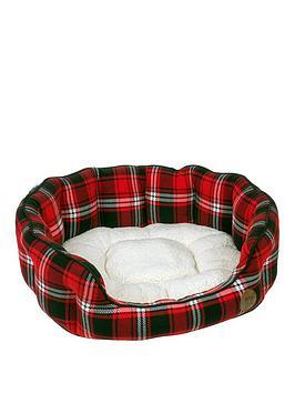 petface-tartan-bed