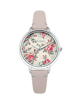 cath-kidston-kingswood-rose-cream-photo-print-dial-pink-leather-strap-ladies-watch