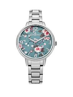 cath-kidston-cath-kidston-trailing-rose-blue-photo-print-dial-silver-metal-bracelet-ladies-watch