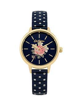 cath-kidston-cath-kidston-richmond-rose-navy-floral-printed-dial-navy-white-polka-dot-stainless-steel-expander-l
