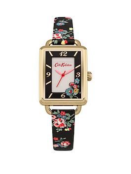 cath-kidston-cath-kidston-spray-flowers-white-dial-black-floral-printed-pu-strap-ladies-watch