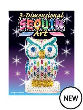 3d-sequin-art-owl