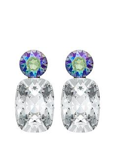 lola-and-grace-lola-amp-grace-silver-tone-plated-glam-drop-earring-made-with-swarovski-elements