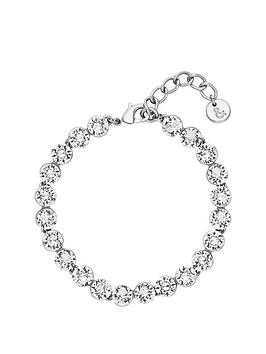 lola-and-grace-lola-amp-grace-silver-tone-plate-crstal-bracelet-made-with-swarovski-elements