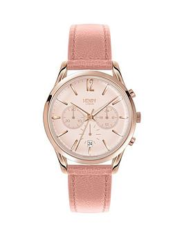 henry-london-henry-london-light-pink-dial-chronograph-rose-tone-case-light-pink-leather-strap-ladies-watch